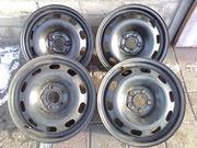 Диски стальные R15/J6;  5*100;  ET38;  D57. Подходят на Skoda-Octavia TUR