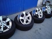 Продам диски  R16  на Toyota Carina E,  Corolla