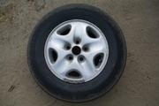 Продам диски MAZDA + резина Dunlop