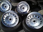 Продам комплект дисков R16 на Volkswagen,  Audi,  Skoda