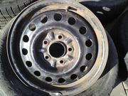 Продам комплект дисков R15 на Mitsubishi Lancer 9