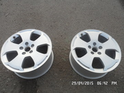 титаны 2ШТ на VW(т4) AUDI(цена за комплект) 17''c вылетом ЕТ56