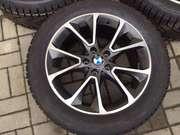 Продам оригинал. одно широкие диски R19 стиль 449 BMW Х5 F15 шины зима